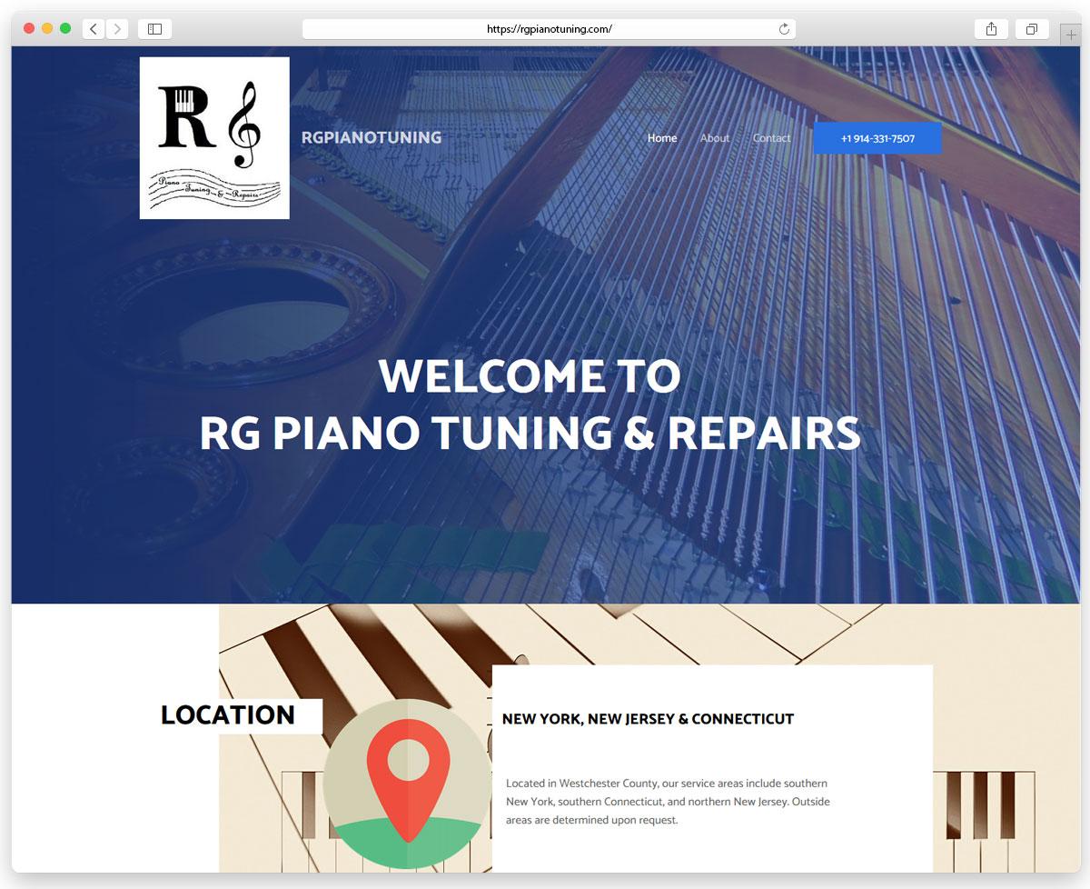 RG Piano Tuning & Repairs - Piano Setup and Repair Site